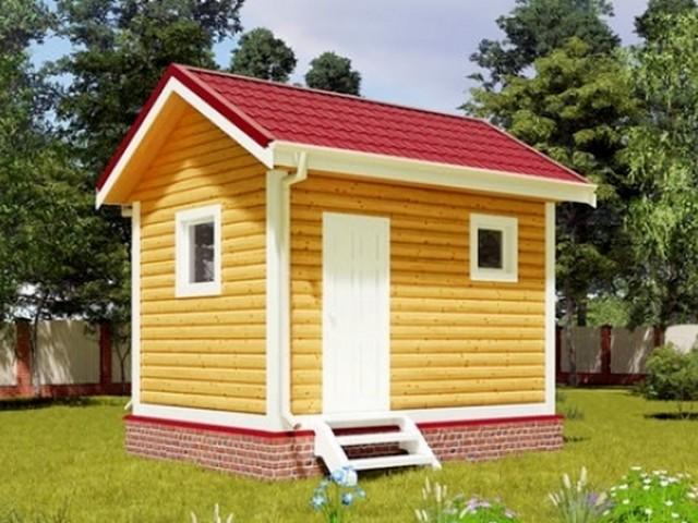 Дом дачный 3х4 м