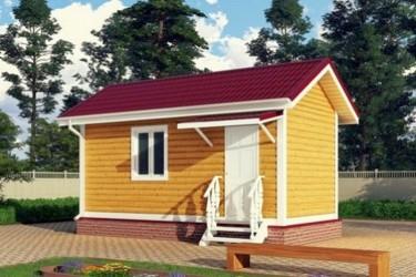 Дом дачный 3х6 м