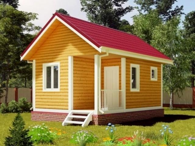 Дом дачный 5х6 м