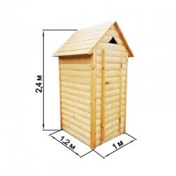 Туалет дачный «Домик»