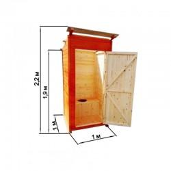Туалет дачный «Вагонка»